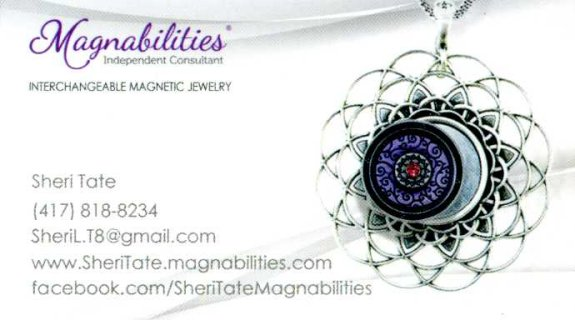 Interchangeable Magnetic Jewelry - EMail: sheril.t8@gmail.com